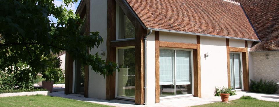 Réhabilitation et extension d'une maison d'habitation