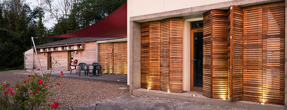 Réhabilitation du bâtiment d'accueil et des sanitaires du camping de Saint-Laurent-Nouan