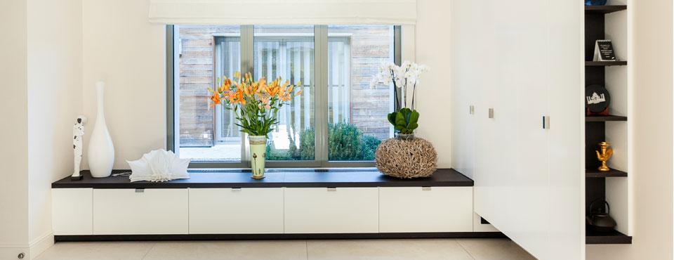 Extension et réhabilitation d'une maison avec aménagement d'un jardin privé