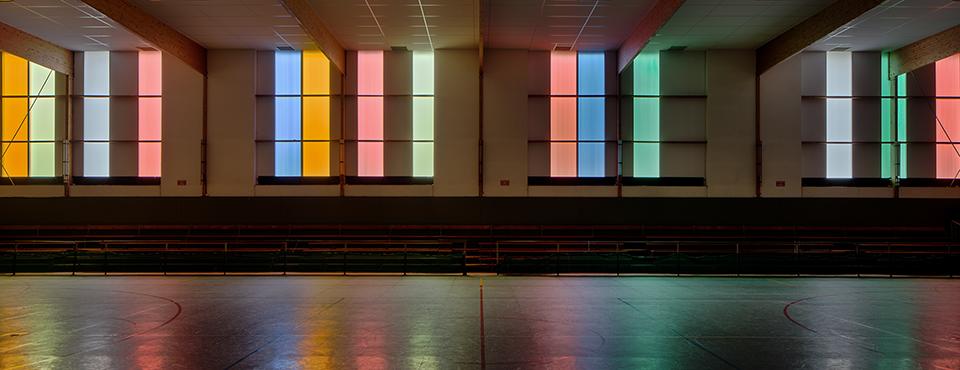 Réhabilitation des façades du gymnase municipal et intercommunal des Perrières