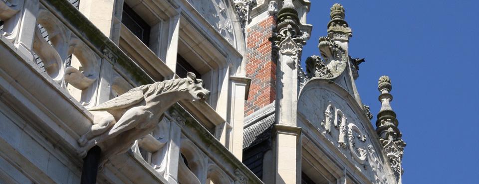 Relevé d'un hôtel particulier du XVIe siècle à Blois