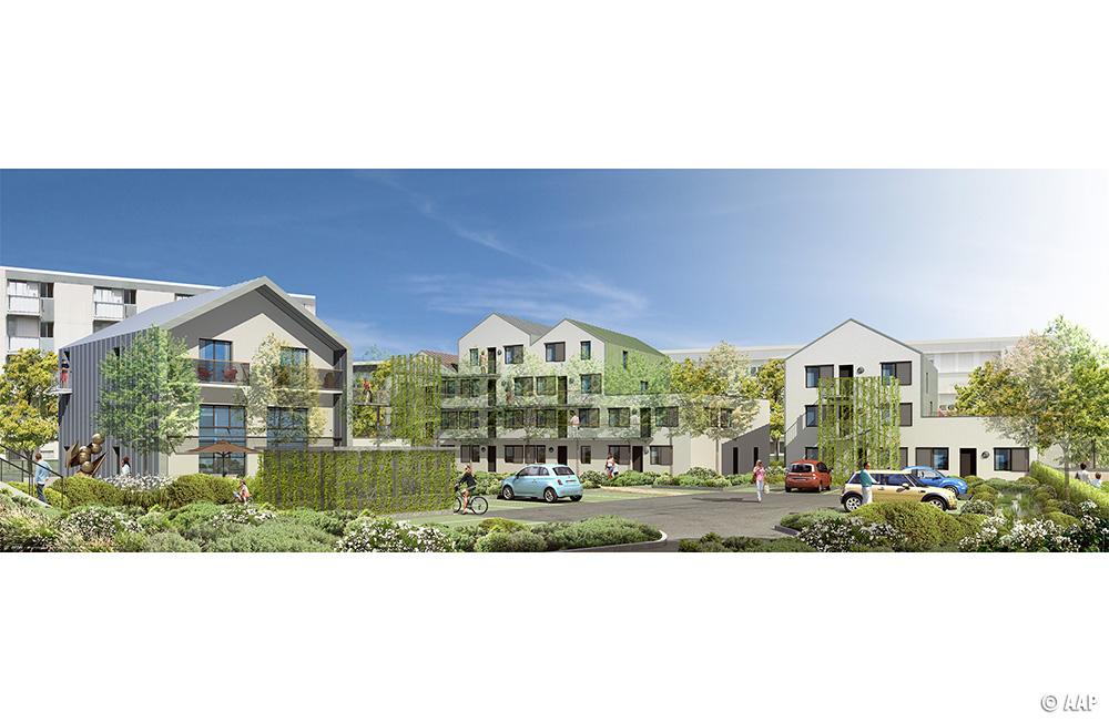 L 39 atelier architectures et paysages 20 logements for Agence horizon paysage