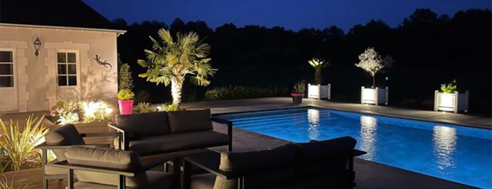 Réhabilitation d'une terrasse et piscine